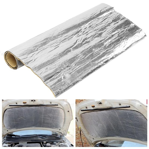 100cmx100cm heat insulation cotton mat fiberglass shield for Fiberglass thermal insulation
