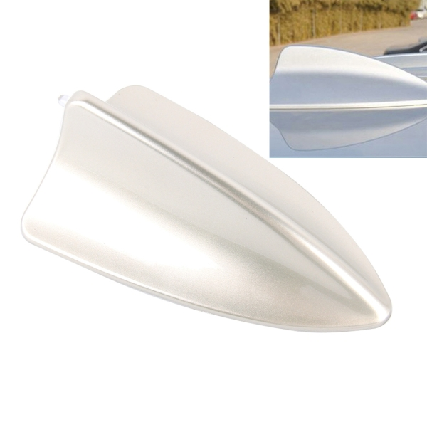 a 881 shark fin car dome antenna decoration silver ForAntenna Decoration