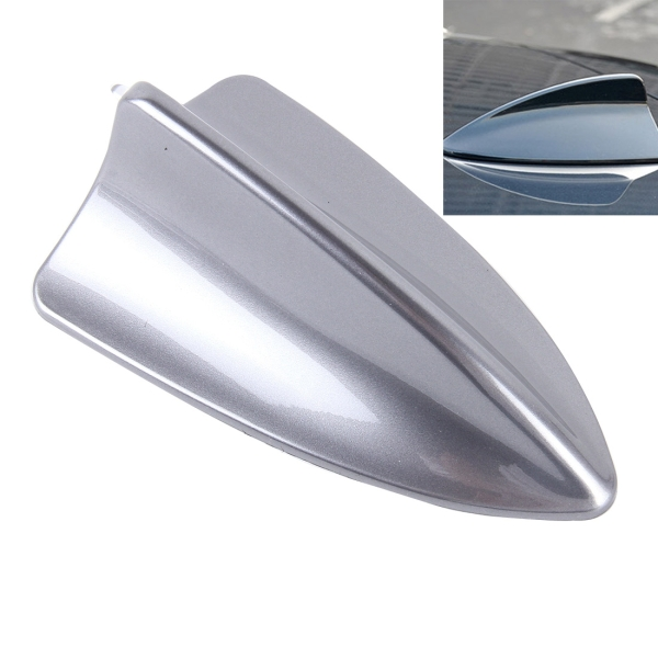 A 881 shark fin car dome antenna decoration grey alex nld for Antenna decoration