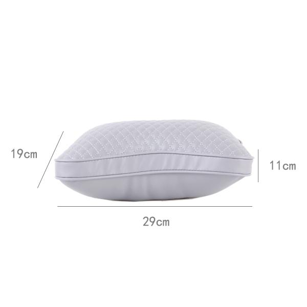 2PCS BIETY Car Neck Pillow (Soft Version) Lovely Breathe Car Auto Head Neck Rest Cushion Headrest Pillow Pad (Grey)