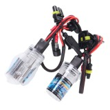 2PCS DC12V 35W H7 HID Xenon Light Single Beam Super Vision Waterproof Head Lamp, Color Temperature: 4300K (White Light)