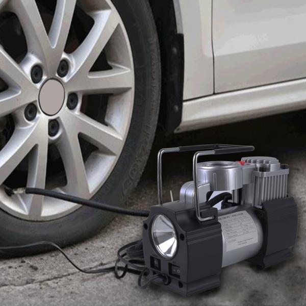 portable air compressor heavy duty 12v 85 150 psi pump tire inflator car tool inflatable pump. Black Bedroom Furniture Sets. Home Design Ideas