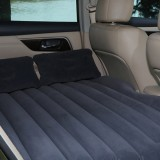 Car Travel Inflatable Mattress Air Bed Camping Universal SUV Back Seat Couch (Grey)
