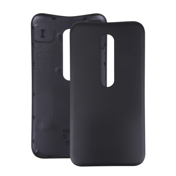 buy popular 24ad1 bf857 Replacement for Motorola Moto G (3rd Gen.) Original Battery Back Cover  (Black)