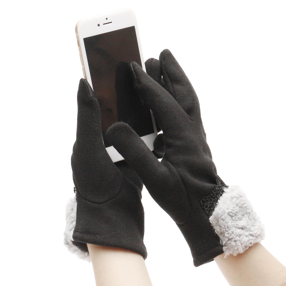 Women Winter Gloves Touch Screen Warm Gloves Outdoor