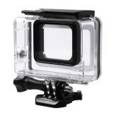 For GoPro HERO5 45m Waterproof Housing Protective Case with Buckle Basic Mount & Screw