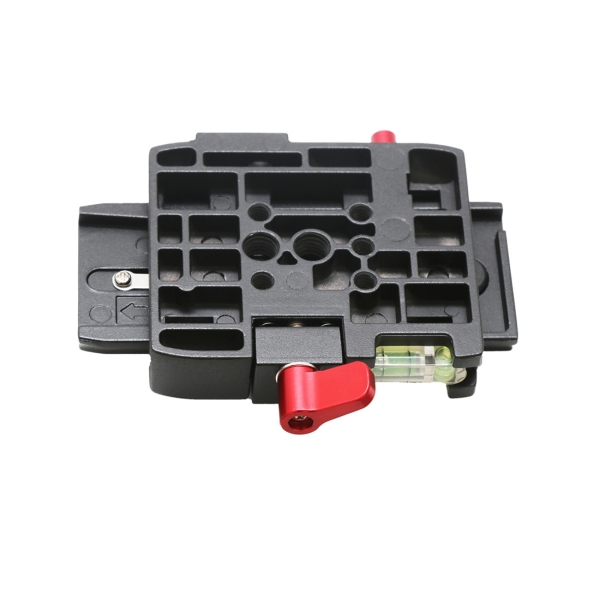 Quick Release Clamp Adapter + Quick Release Plate P200 Compatible for Manfrotto 501 500AH 701HDV 503HDV Q5 (Black)