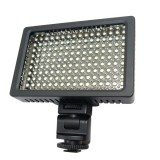 HD-160 White Light LED Video Light on-Camera Photography Lighting Fill Light for Canon, Nikon, DSLR Camera with 3 Filter Plates