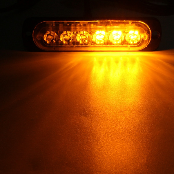 Led Lights Affecting Garage Door Openers: 18W LED Car Strobe Light Emergency Lamp Warning Flashing