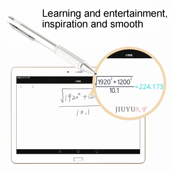 Universal Rechargeable Capacitive Touch Screen Stylus Pen for iPhone, iPad, Samsung, and Other Capacitive Touch Screen Smartphones or Tablet PC (Dark Blue)