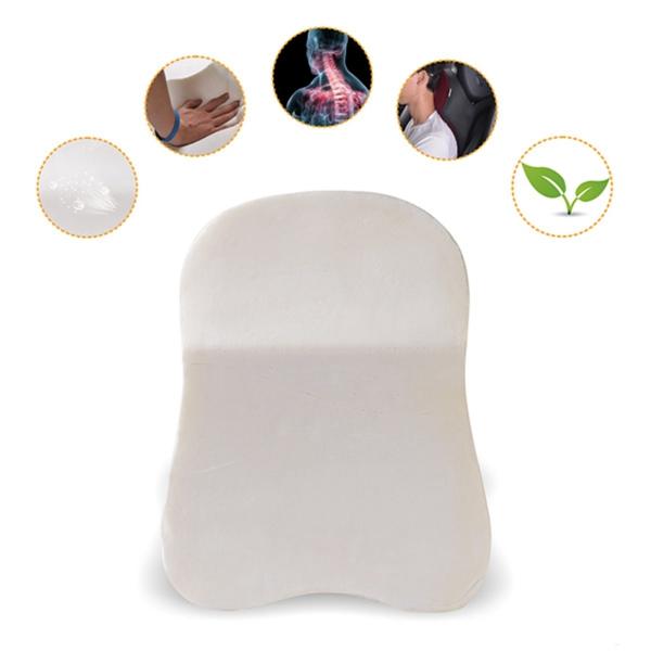 Car Seat Headrest Pad Memory Foam Pillow Head Neck Rest Support Cushion
