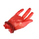 Popular Scary Halloween Prop Bloody Four Finger Fake Hand
