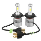 Pair 36W 6500K 4500LM H11 H7 H4 HB3 HB4 LED Headlight Driving Fog Lamp Bulb White