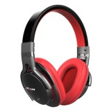 ZEALOT B5 Stereo Wired Wireless Bluetooth 4.0 Headphone Subwoofer Headset Ear Cup with 40mm Speaker & HD Microphone & 3.5mm Audio Port for Mobile Phones & Tablets & Laptops, Support 32GB TF / SD Card Maximum (Red)