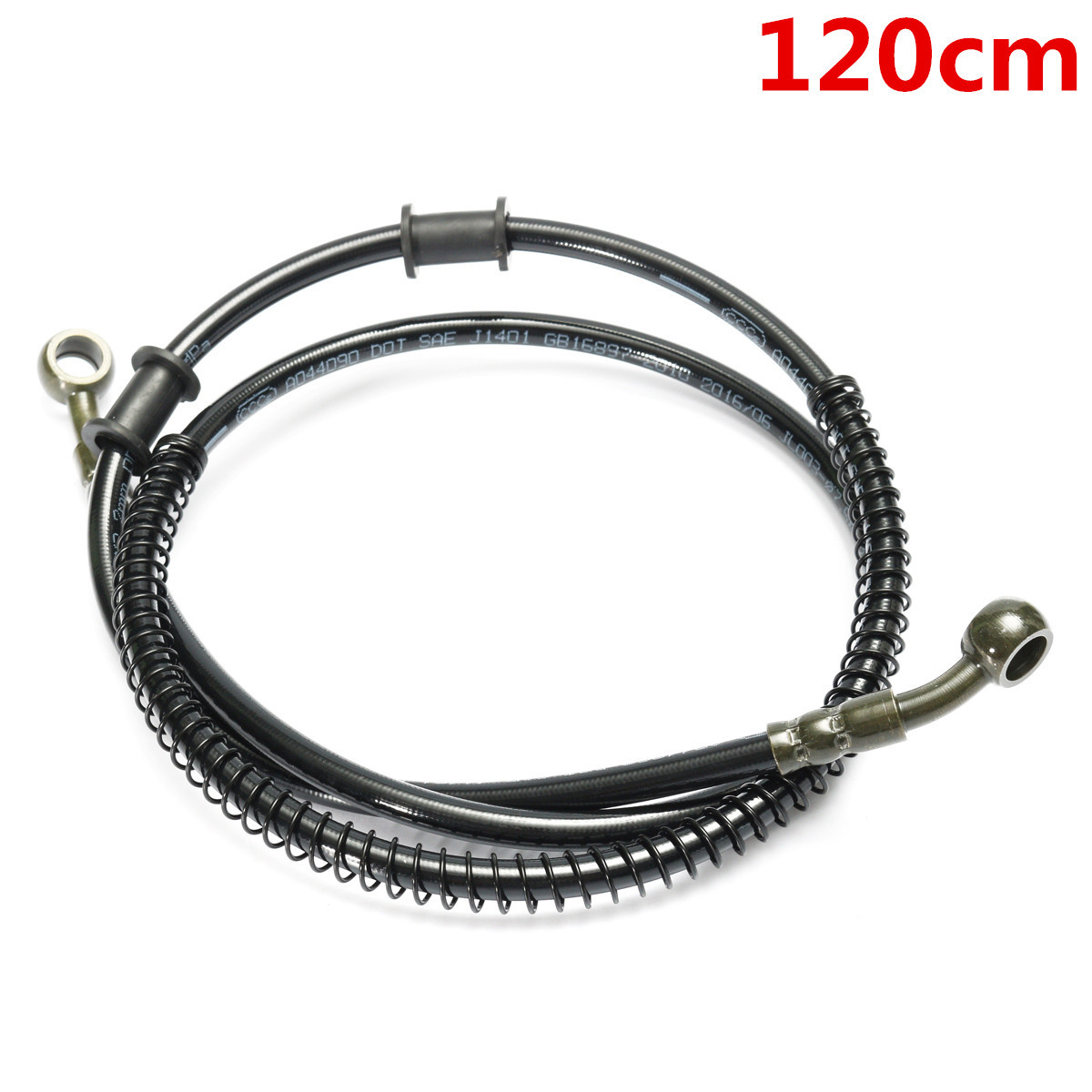 190cm Motorcycle Braided Brake Clutch Oil Hose Line Pipe 10mm 100cm NICOLIE 50cm