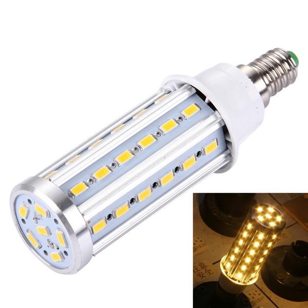 e14 10w 880lm 42 led smd 5730 aluminum corn light bulb ac 85 265v warm white alex nld. Black Bedroom Furniture Sets. Home Design Ideas