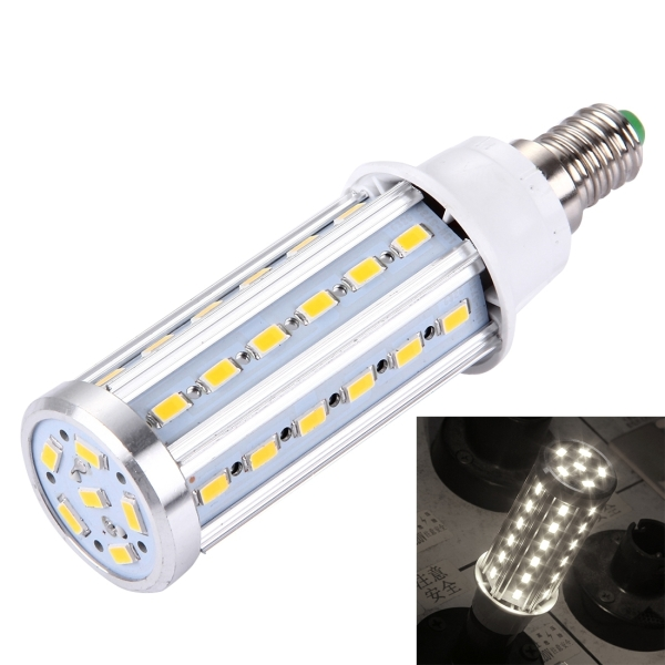 e14 10w 880lm 42 led smd 5730 aluminum corn light bulb ac 85 265v white light. Black Bedroom Furniture Sets. Home Design Ideas