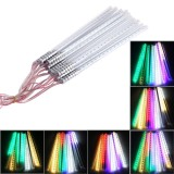 10  PCS 30cm LED 2835 SMD Meteor Light / Decorative Light, AC 100-240V, Radius: 1.2cm, EU Plug (Colorful Light)