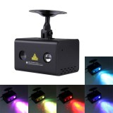 15W Fantastic and Romantic Colorful Water Wave LED Laser Light Star Light Lamp Family Decoration Light KTV Disco Pub Party Atmosphere Light with Holder & Sound Activated & Automatic Play & Manual Remote Control Fcuntion