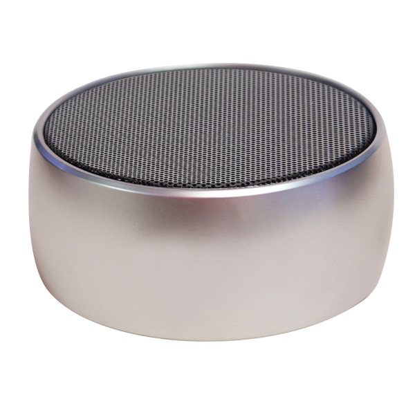 BS01 Portable Bluetooth Stereo Speaker with Built-in MIC, Support Hands-free Calls & TF Card & AUX IN, Bluetooth Distance: 10m (Gold)