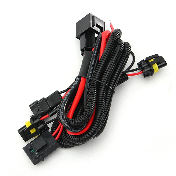 Wiring Harness Relay Kit For 9005 9006 H3 Hb4 H10 9140 9145 Xenon Hid Conversion: 9006 Hb4 Wiring Harness At Johnprice.co
