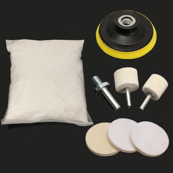 windscreen polishing powder kit car glass scratch repair wiper blade damage remover alex nld. Black Bedroom Furniture Sets. Home Design Ideas