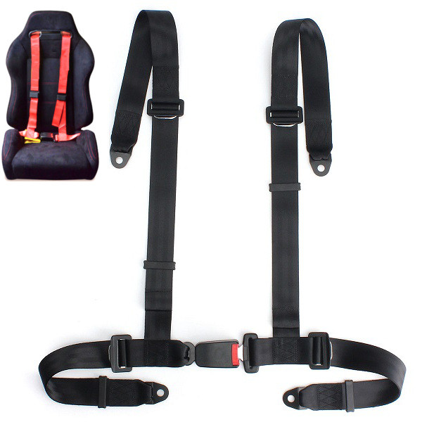 Sport racing car harness safety seat belt 3 4 point fixing for Ab salon equipment reviews
