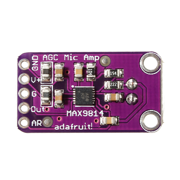 CJMCU MAX9814 High Performance Microphone AGC Amplifier Module CMA-4544PF-W For Arduino
