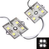 20PCS SMD5050 Cool White 80 LED Module Strip Light Rigid Bar Lamp For Signage Storefront DC12V