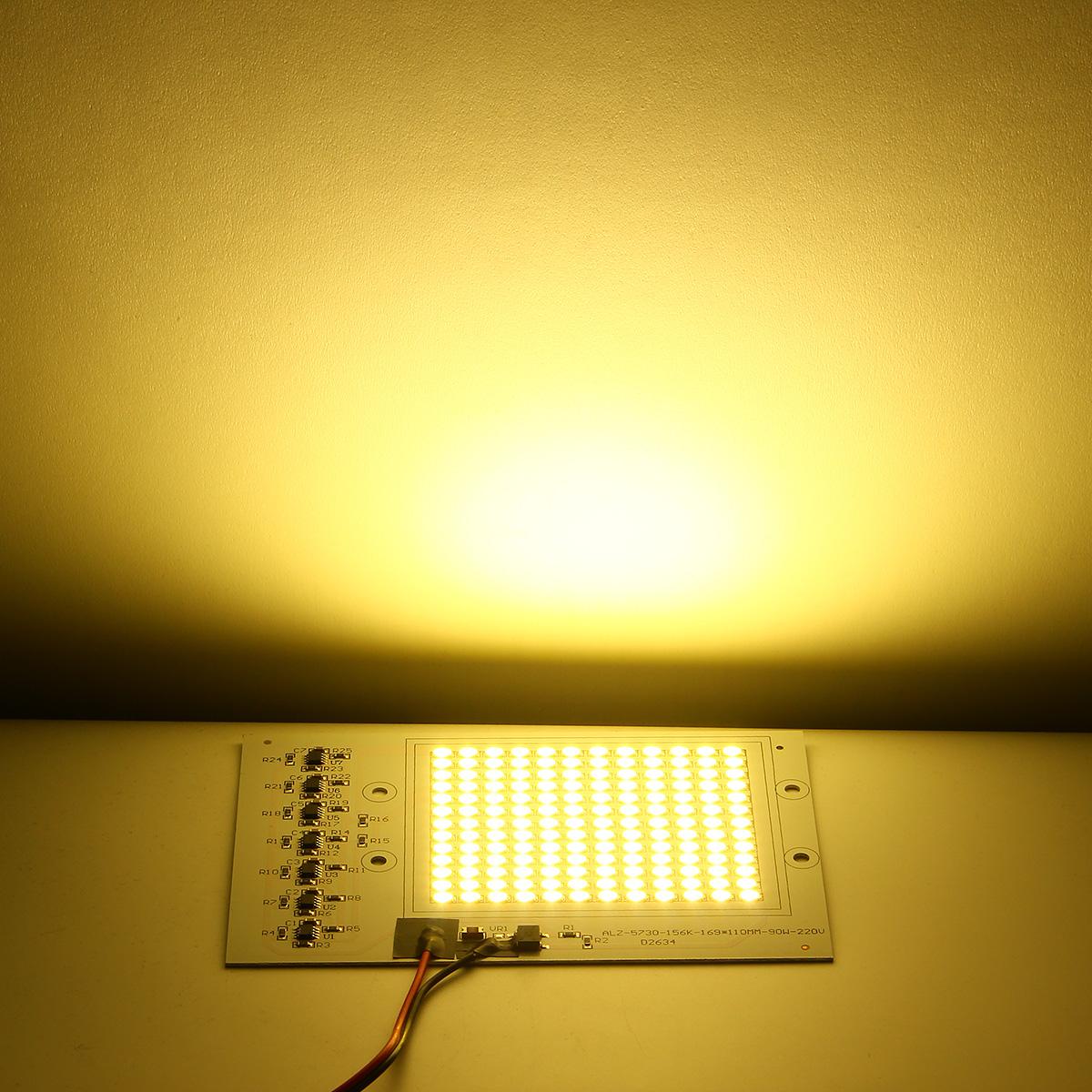 90W SMD5730 Outdoor Smart IC LED COB Chip Bead DIY Floodlight Lamp 220V