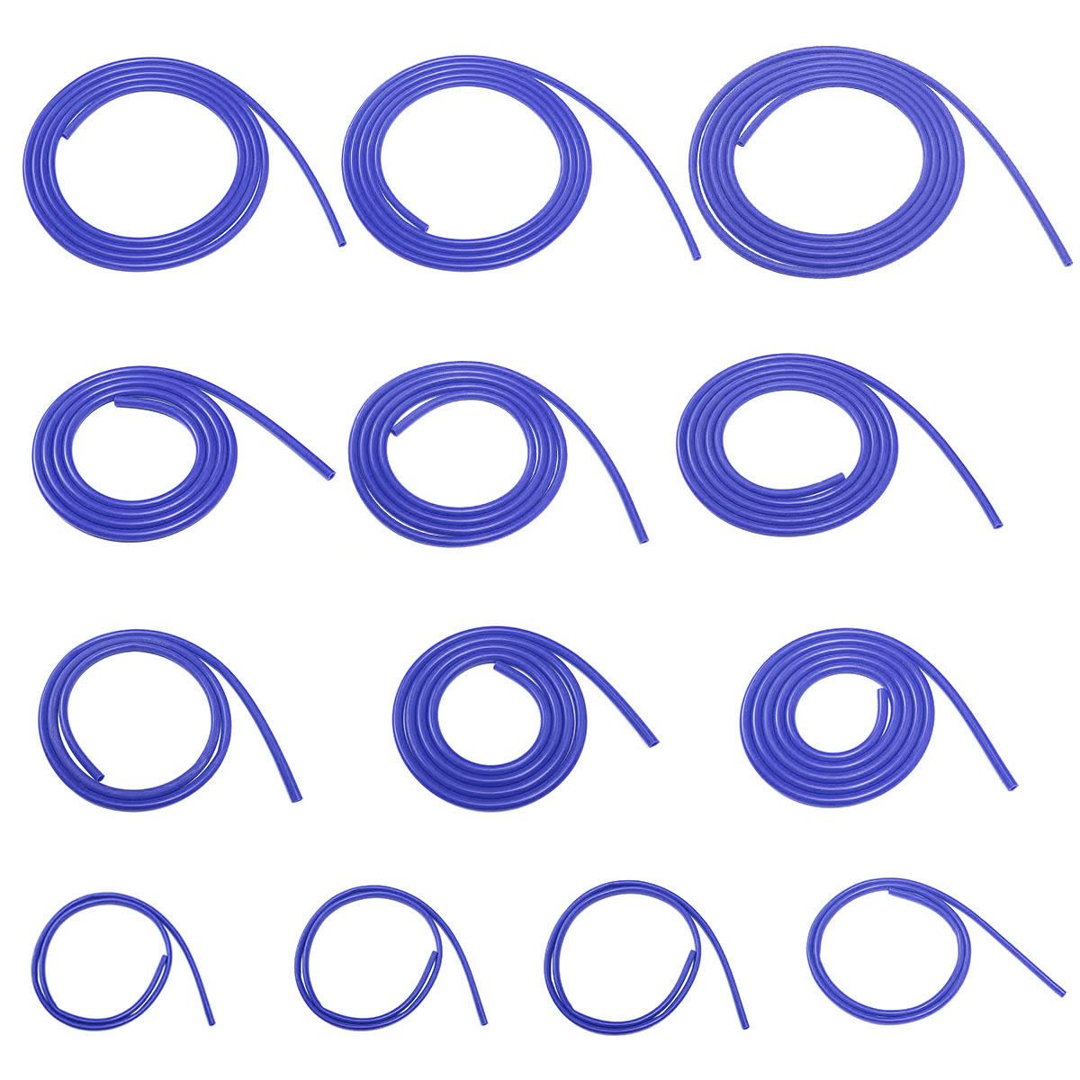Silicone Vacuum Hose Boost Dump Valve Pipe 7mm ID Blue