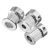 GT2 Timing Pulley 20Teeth Alumium Gear Bore 5MM 6.35MM 8MM For GT2 Belt Width 10mm For 3D Printer