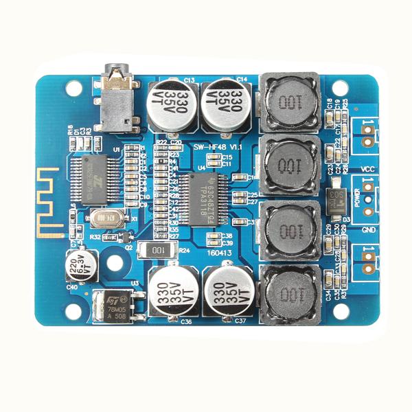 TPA3118 2x30W 8-26V DC Stereo Bluetooth Digital Amplifier Board