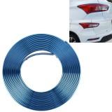 2m High Quality Car Headlight External Frame Decorative Strip Car Wheel Hub Trim Mouldings Shining Decoration Strip Automobile Network Decorative Strip (Blue)
