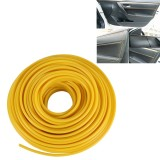 8m Flexible Trim For DIY Automobile Car Interior Moulding Trim Decorative Line Strip (Yellow)