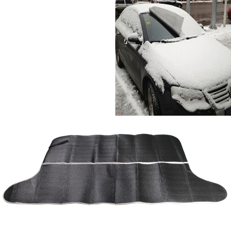 Full Windshield Snow Cover For Cars Snow Ice Frost Guard