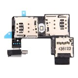 Replacement for Motorola Moto G (2nd Gen.) (Dual SIM Version) SIM Card Socket + SD Card Socket