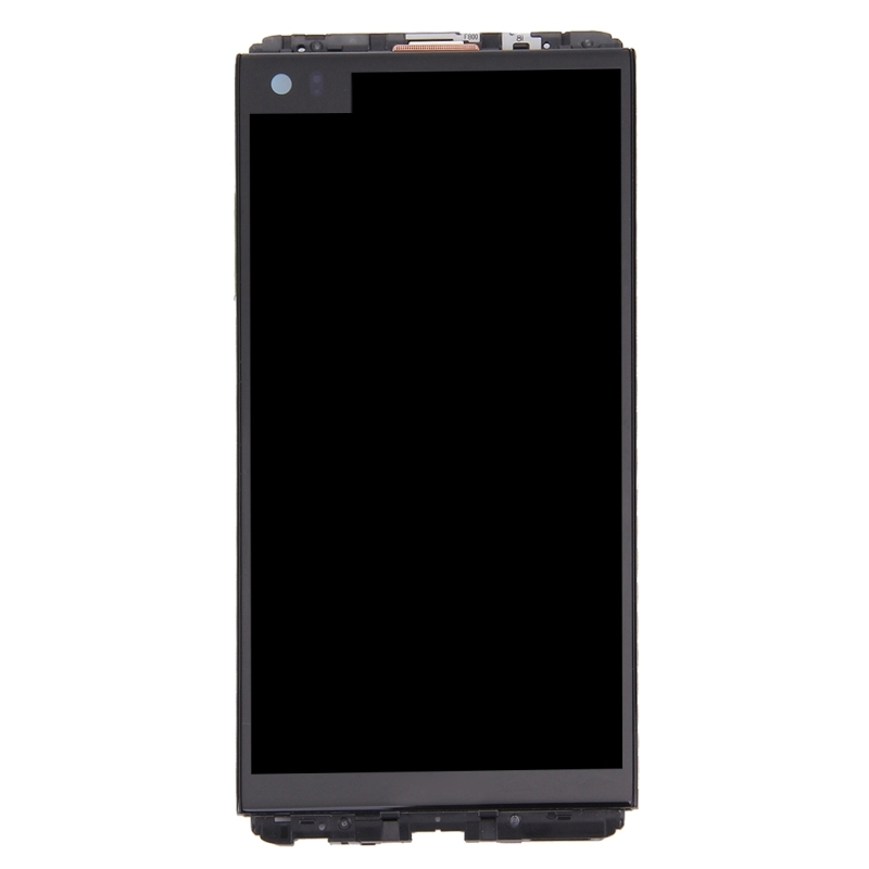 replacement for lg v20 lcd screen touch screen digitizer assembly with frame black. Black Bedroom Furniture Sets. Home Design Ideas