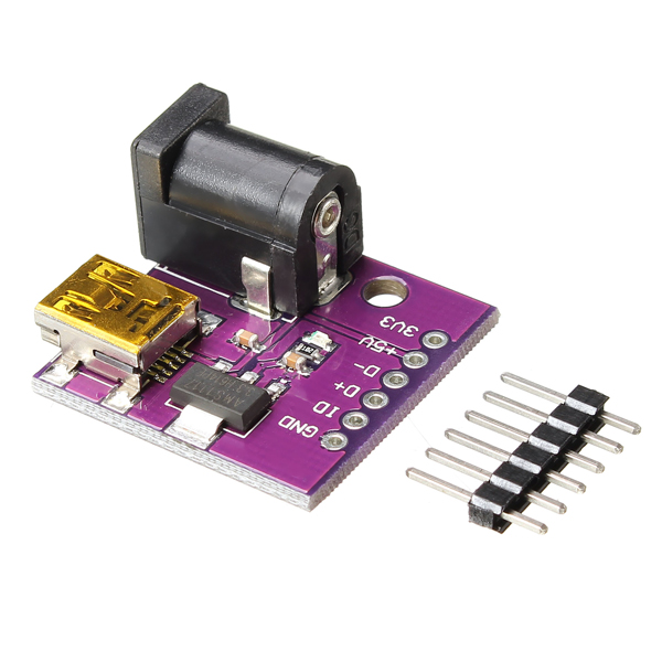 Cjmcu v mini usb power connector dc socket board