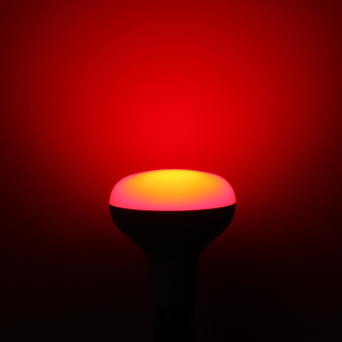 E27/B22 RGBW 10W LED Light Bulbs Colorful Globe Lamp ...