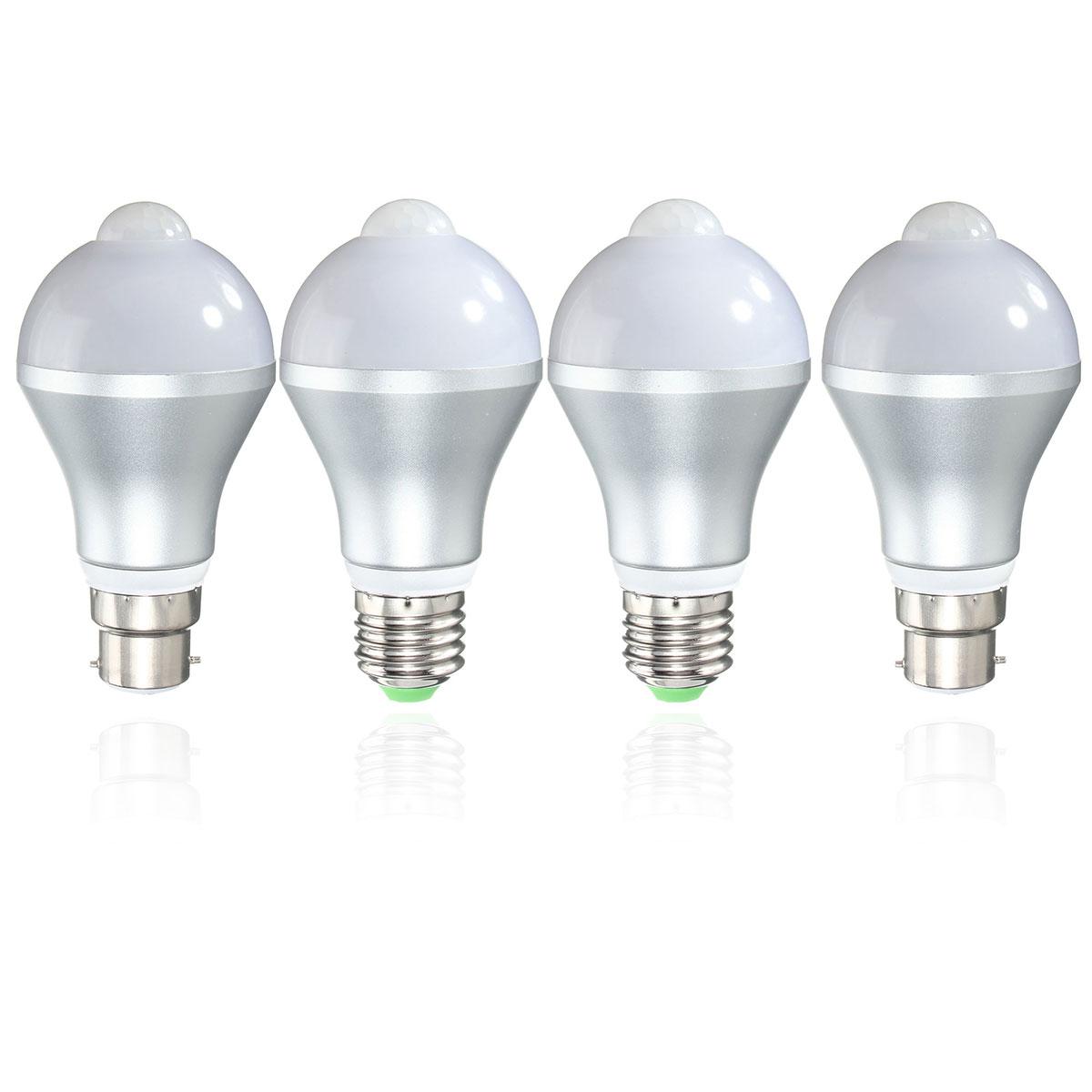 E27 B22 5w Auto Pir Motion Sensor Led Infrared Energy Saving Light Bulb 85 265v Alex Nld