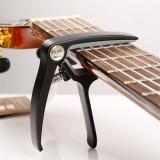 Musedo MC-4 Soft Silica Metal Quick Change Key Capo for Classical Guitar