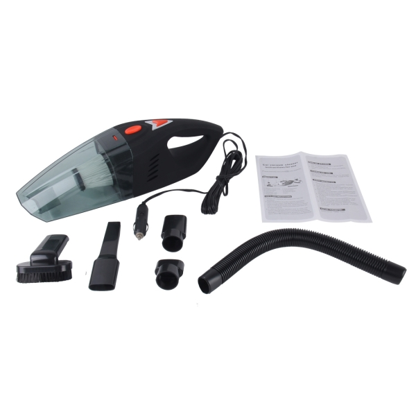 Car Vacuum Cleaner, DC 12V Wet & Dry Auto Vacuum Cleaner Portable Handheld Vacuum Cleaner Dust Buster Hand Vacuum with 4m Power Cord