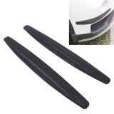 2PCS Universal Car Body Bumper Guard Protector Sticker/Car Crash Bar Bumper Strips /Car Crash Strips/Anti-rub Strips/Anti-rub Bar (Black)