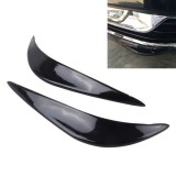2PCS Universal Car Body Bumper Guard Protector Sticker Turning Guard/Car Crash Bar Bumper Strips /Car Crash Strips/Anti-rub Strips/Anti-rub Bar (Black)