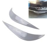 2PCS Universal Car Body Bumper Guard Protector Sticker Turning Guard/Car Crash Bar Bumper Strips /Car Crash Strips/Anti-rub Strips/Anti-rub Bar (Grey)