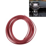 3M Flexible Trim For DIY Automobile Car Interior Exterior Moulding Trim Decorative Line Strip with Film Scraper (Red)