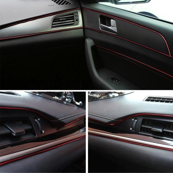 3m flexible trim for diy automobile car interior exterior moulding trim decorative line strip. Black Bedroom Furniture Sets. Home Design Ideas