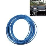 3M Flexible Trim For DIY Automobile Car Interior Exterior Moulding Trim Decorative Line Strip with Film Scraper (Blue)