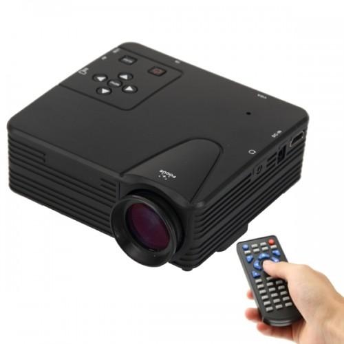 80 lumens 1080p hd multimedia mini portable led projector for Portable projector hdmi 1080p
